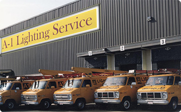 a-1 lighting service is located in revere, ma