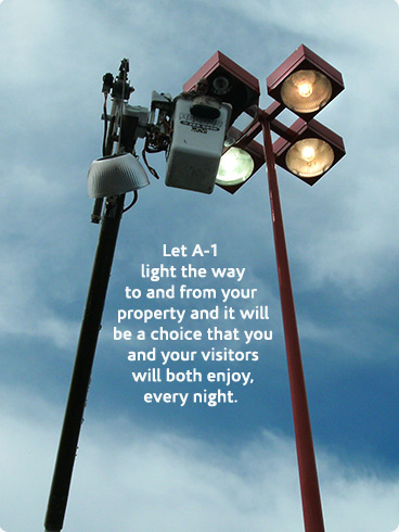 in the boston area a 1 installs and maintains exterior light